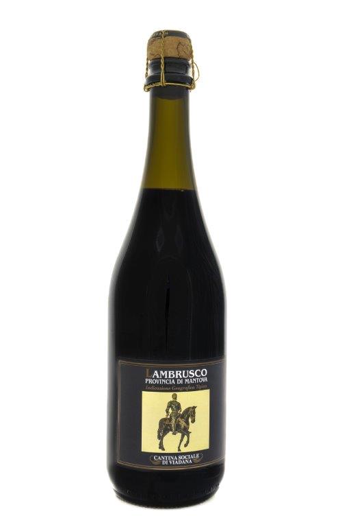 Bottiglia di Lambrusco Mantovano IGT